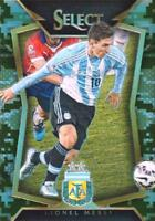 2015 Panini Select Soccer Base Common Camo Parallel Numbered to /249 - (51-100)
