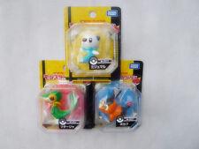 Takara Tomy Pokemon 3pcs M001/002/003 Snivy/Tepig/Oshawott Figuires New