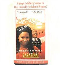 Sarafina! VHS Movie Whoopi Goldberg Promo Screener Copy