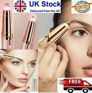 Women's Painless Brows Facial Hair Remover Electric Eyebrow Trimmer Epilator UK