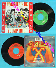 LP 45 7'' HEARTBEAT UK Jump to it!Jumping 1987 italy VIRGIN 45234 no cd mc dvd