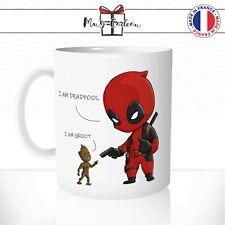 Mug Deadpool Groot Humour - Tasse personnalisé - Idée Cadeau Original Café Thé