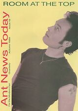 Adam Ant Official Fan Club Newsletter Ant News Today 19 PUNK FEATURE