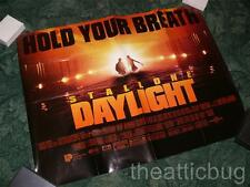UK Quad Film / Movie Poster ~ Daylight ~ Sylvester Stallone ~ Folded four times