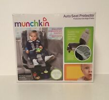 MUNCHKIN Auto Seat Protector with Expandable Storage Pocket (BLACK)