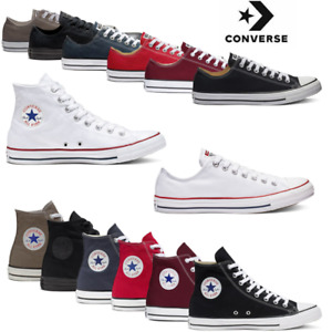 Converse Mens Womens Trainers Low High Tops Chuck Taylor All Star Casual Shoes