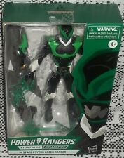 NEW POWER RANGERS LIGHTNING COLLECTION IN SPACE PSYCHO GREEN RANGER E8922 NIB