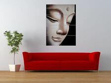 BUDDHA BUDDHIST RELIGION LIFESTYLE HEAD GIANT ART PRINT PANEL POSTER NOR0624