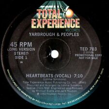 Yarbrough & Peoples Heartbeats synth space disco electro scifi USA 1982 PROMO