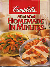 Campbells Homemade in Minutes NEW Fast EASY Meals QUICK Cookbook RECIPES Simple