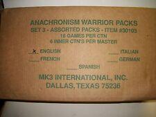 Anachronism Cards Set 3 Warrior Packs Case of 96 Packs