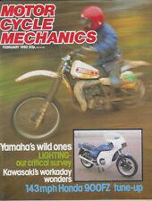 MCM 1980-02    Z650 SR BMW R45, RD400, CB900, KH100 KM100 KE100 SR650