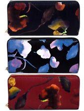Porte-monnaie et portefeuilles rouges en synthétique pour femme