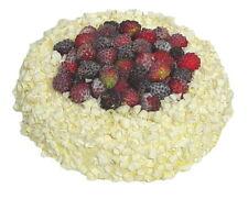 Attrappe Torte mit Schokolade und Beeren -künstliche Torte  Kuchen - Dekoration