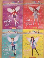 Lot of 4: SPANISH Books: RAINBOW MAGIC by Daisy Meadows Libros Español NEW