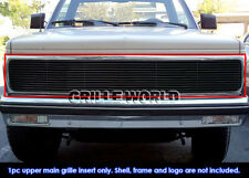 Fits 1991-1993 Chevy S10 Black Billet Main Upper Grille Insert