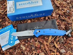 Benchmade Osborne 940 Blue Class CPM-S90V 2021 Neu & OVP