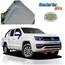 Car Cover Fits VW Amarok Dual-Cab Ute to 5.56m WeatherTec UV Soft Non Scratch