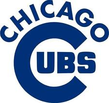 Chicago Cubs Cornhole Game Decals - Window Vinyl Decals Free Hole Decals