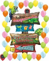 Margaritaville Beach Luau Tropical Party Supplies Birthday Balloon Decoration...