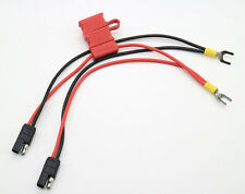 2In1 Power Cable For Motorola Repeater Mobile Radio Cdm1250 Gm3188 A228 W/ Fuse