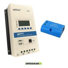 Regolatore di carica MPPT TRIRON4210N 40A 12V 24V DISPLAY DS2 UCS wifi box