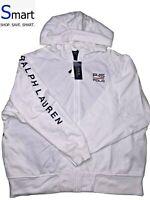 NWT LARGE MEN Polo Ralph Lauren P-15 USA SAILING TEAM FULL ZIP Pullover Hoodie