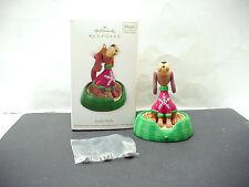 Vintage Hallmark Keepsake Magic Sound Jingle Bells Singing Dog Ornament