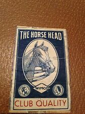 old match box top - the horse head club quality