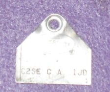 1962 Ford Thunderbird Ht Convertible ORIG 390 4V HOLLEY CARBURETOR ID TAG C2SE-C