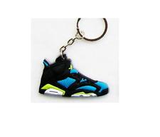 Jordon Basketball Sneaker Shoe Keychain Keyring Gift NEW Black