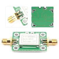 5M-6GHz RF Broadband Wideband Signal Power Amplifier with 20dB Gain DC 5V Useful