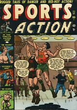 Sports Action #11 Comic Book FN- 5.5 Atlas 1951 See My Store