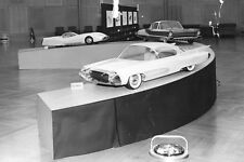 1955 Concept GYRONAUT X-1 At Ford's Advanced Styling Studio 8 x 10 Photograph