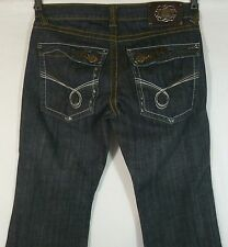 Men's Samuel Kato Distressed Jeans Tag 34 x30 Actual 34 x 29.5 VG to EUC! Intl Y