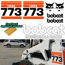 Bobcat 773 Turbo v2 Skid Steer Set Vinyl Decal Sticker bob cat MADE IN USA