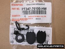 Lexus CT200H (2011-2017) Genuine OEM Cargo Net UPPER HARDWARE INSTALL KIT - Hook