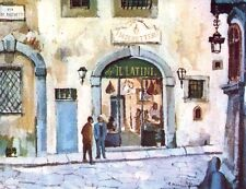 FIRENZE - RISTORANTE IL LATINI - RARA CARTOLINA - ANNI '50