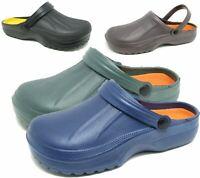 Mens Clogs Mules Slipper Nursing Garden Beach Sandals Hospital Rubber Shoes