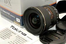 Mint Tokina AT-X PRO SD 12-24mm f/4 IF DX II Ultra Wide Angle Lens Nikon Japan