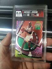 1993-94 Fleer Untra POWER IN THE KEY Michael Jordan #2 - HGA 8 🔥