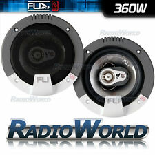"FLI FI5 5.25"" 13cm 3 way Car Coaxial Door/Shelf/Dash Speakers 360W Pair"
