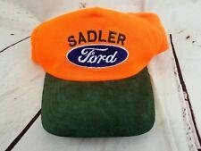VTG Sadler Ford Hunting Orange Hat Cap Snapback Virginia Strohm USA