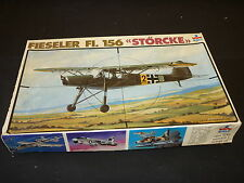 A ESCI  plastic kit of a Fieseler F1 156 Storcke,  started / boxed