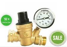 Rv Camper Water Pressure Regulator Gauge Valve Adjustable Garden Hose Plumbing