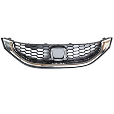 Silvery Chrome Front Grill Grille for Honda Civic US Version 2013-15