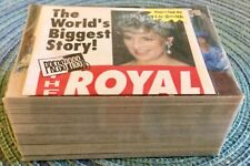 1993 Press Pass The Royal Family Complete 110 Card Base Set (1-110)