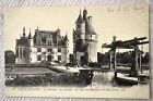 """CPA """" CHENONCEAUX - Le Château - La Façade - La Tour des Marques et Pont Levis"""
