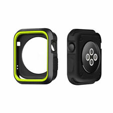TPU Bumper Frame Protector Case Cover fr Apple Watch iWatch 38/42mm Series 3/2/1