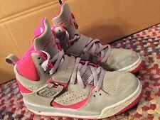 Nike Air Jordan Flight 45 High IP Grey Pink GS Grade School SIze 5Y 837024-009